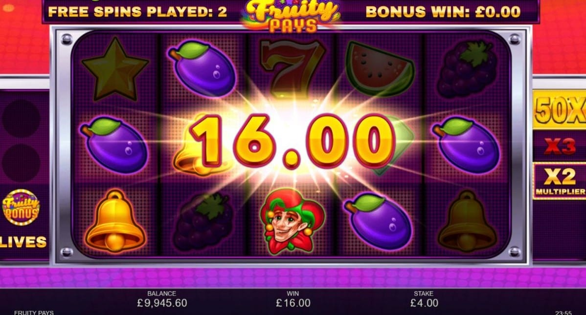 Fruity Pays Slot Online