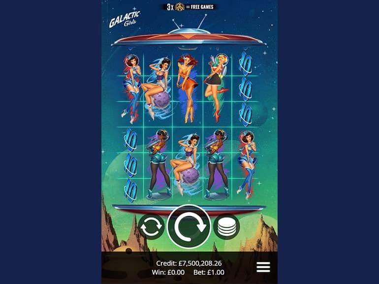Galactic Girls Slot Game