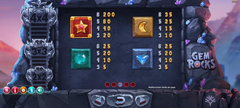 gem rocks Slot Wizard Slots
