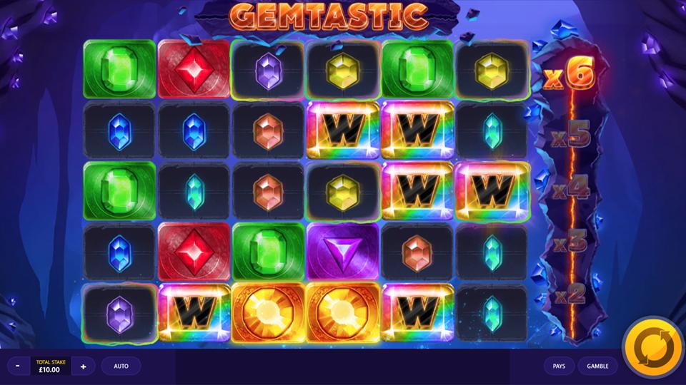 Gemtastic Free Slots