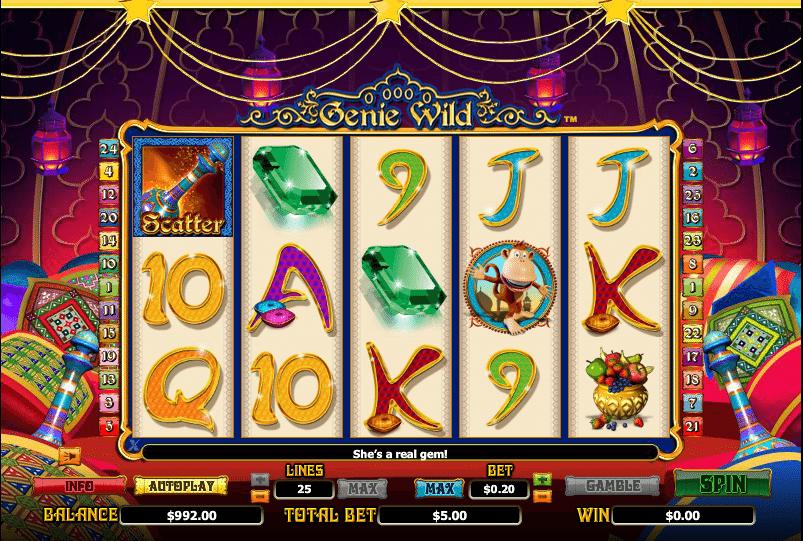 Genie Wild Gameplay