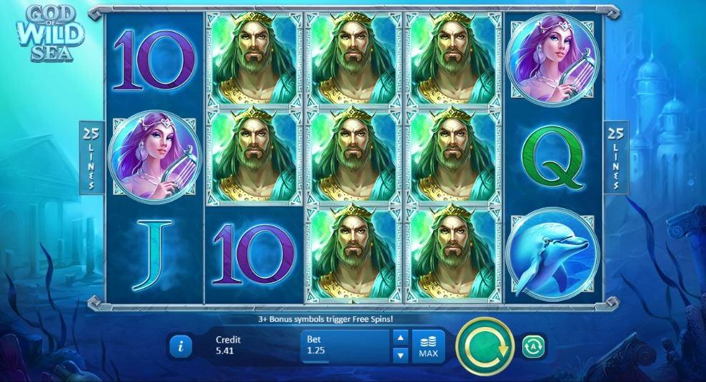 God of Wild Sea Gameplay