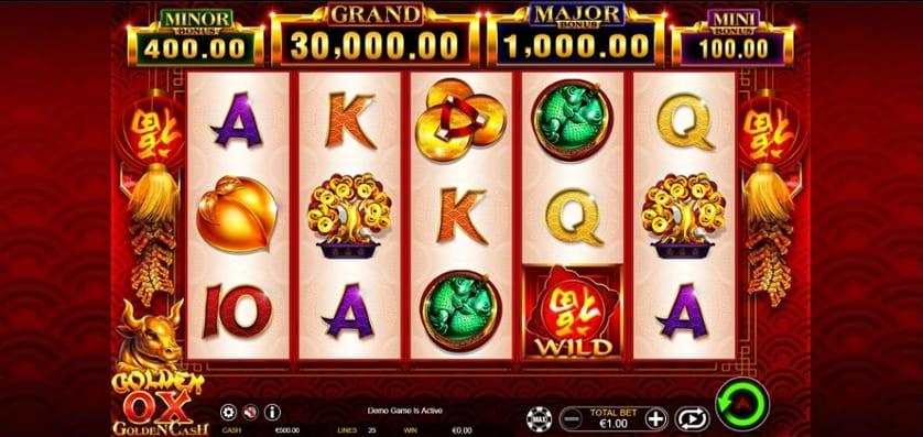 Golden Ox Online Slots