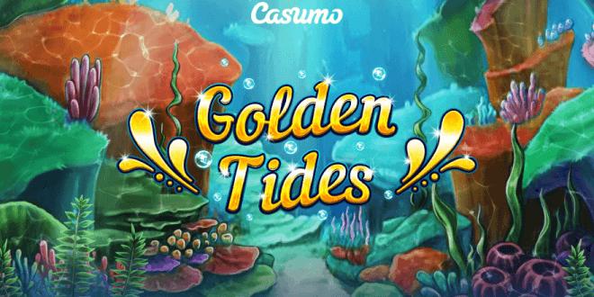 Golden Tides Logo Slot