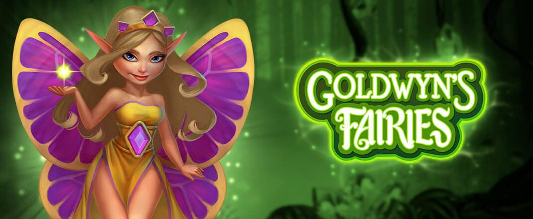 Goldwyn's Fairies online slots game logo