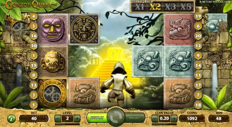 Gonzos Quest Slots Bonus Features