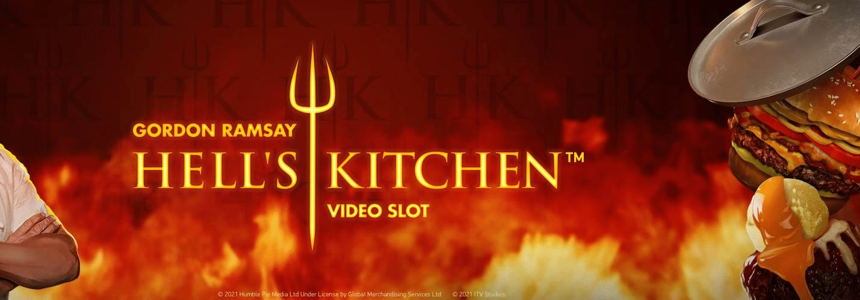 Gordon Ramsay Hell's Kitchen Slot Logo Wizard Slots