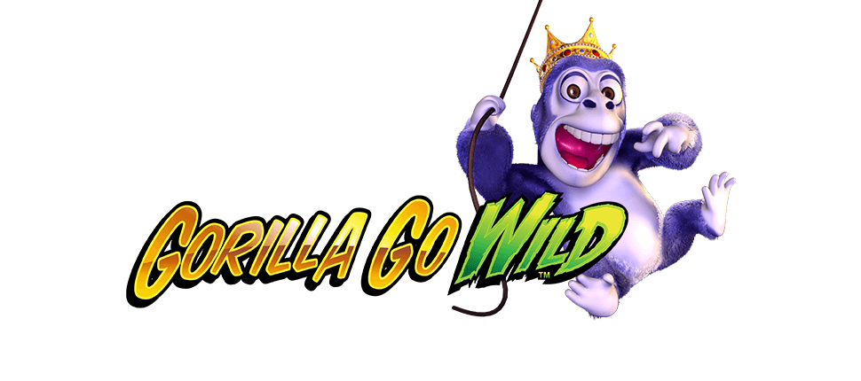 Gorilla Go Wild online slots game logo