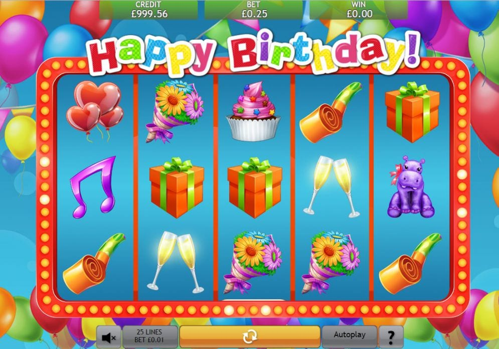 Happy Birthday Jackpot Gameplay 2