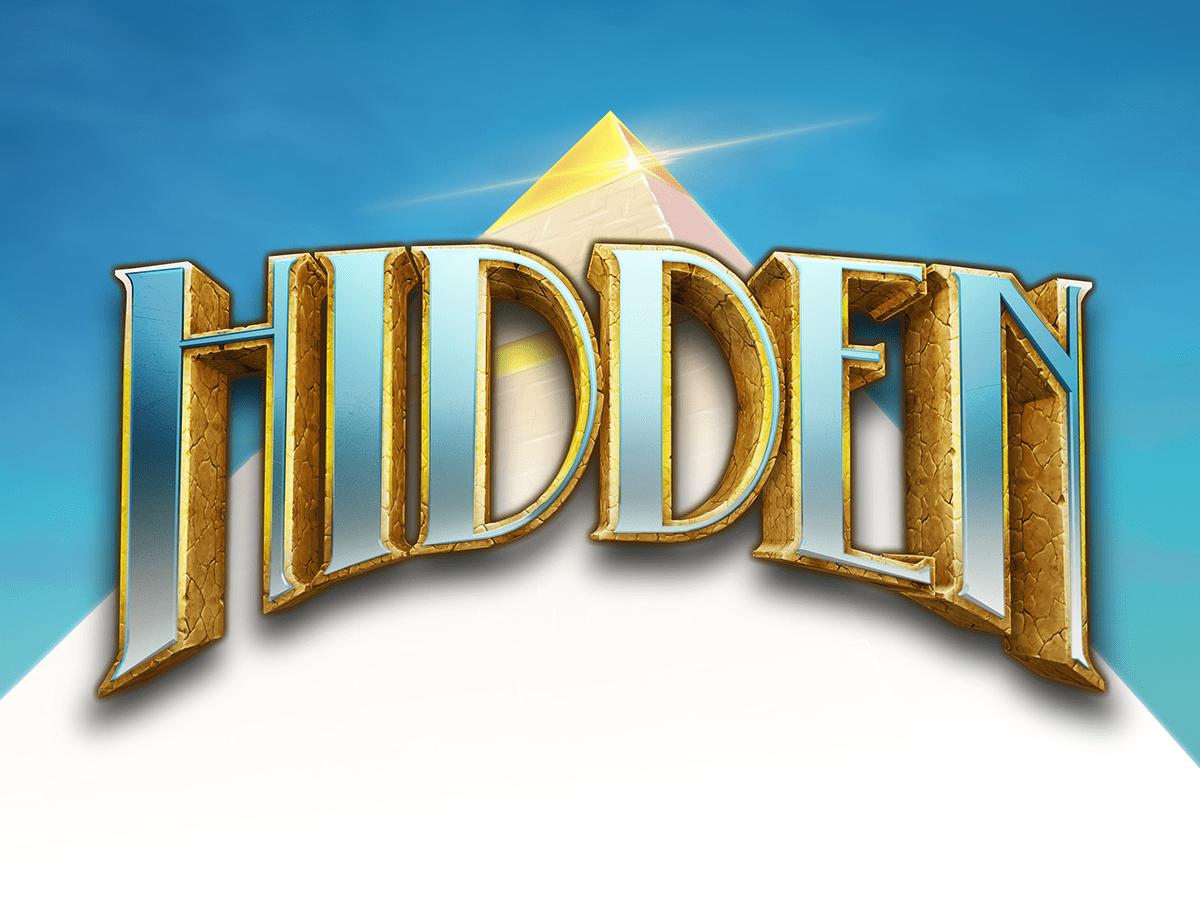Hidden online slots game logo