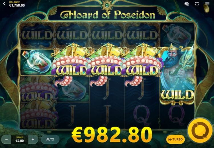 Hoard of Poseidon Slot Big Win