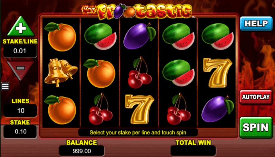 Hot Frootastic Slot online