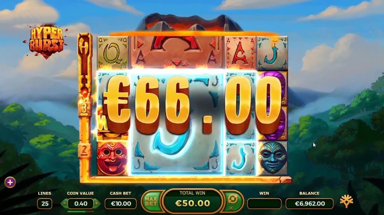 HyperBurst Slot Big Win