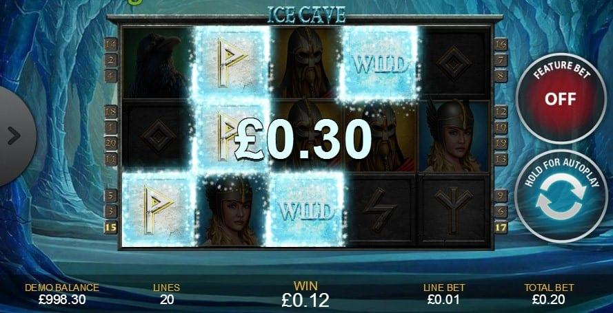 Ice Cave Slot Gameplay