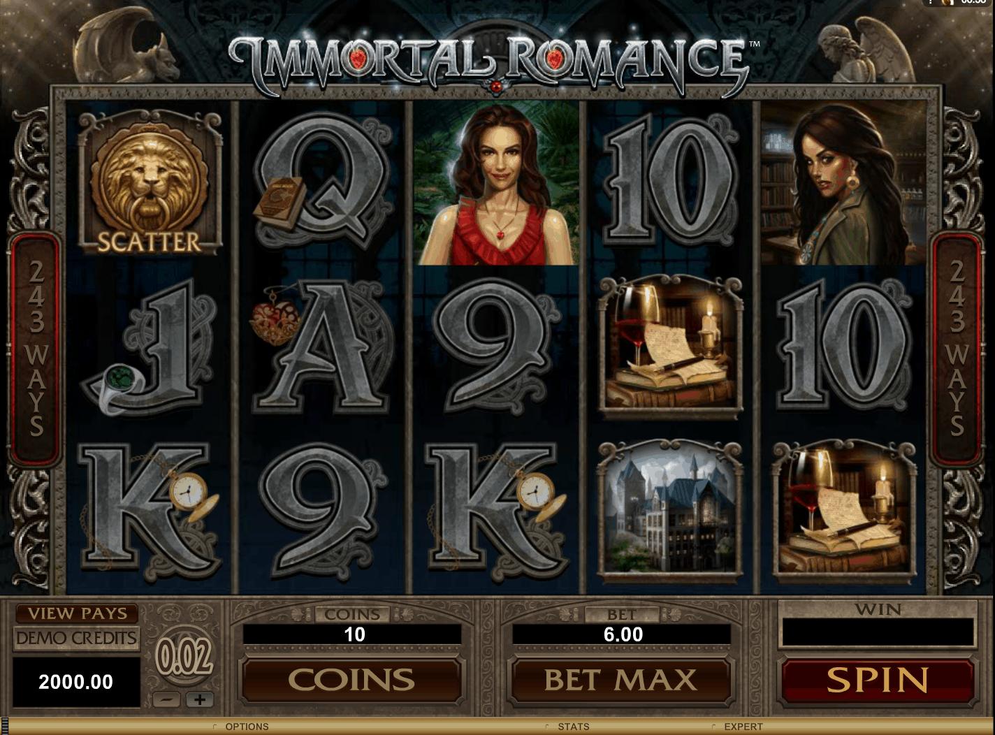 Immortal Romance Slot Online