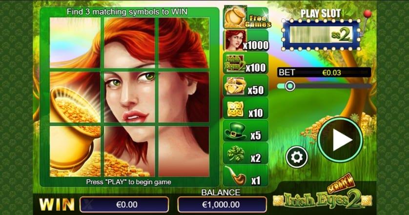 Scratch Irish Eyes 2 Casino Game