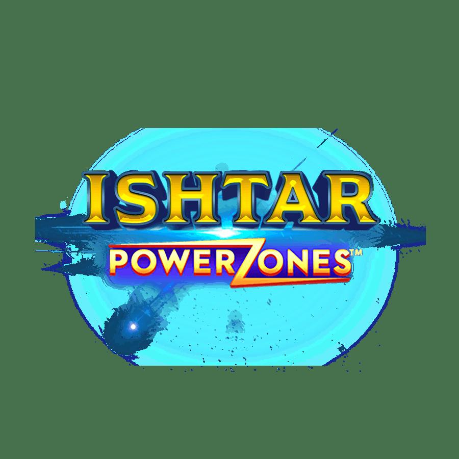 Ishtar Power Zones Slot Logo Wizard Slots