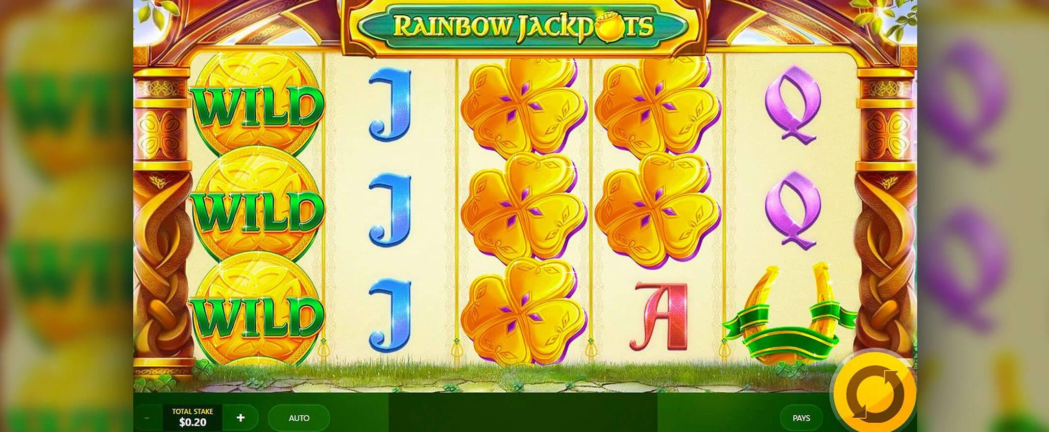 Rainbow Jackpots Slots UK