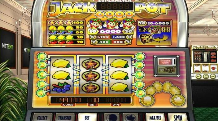 Jackpot 6000 Gameplay