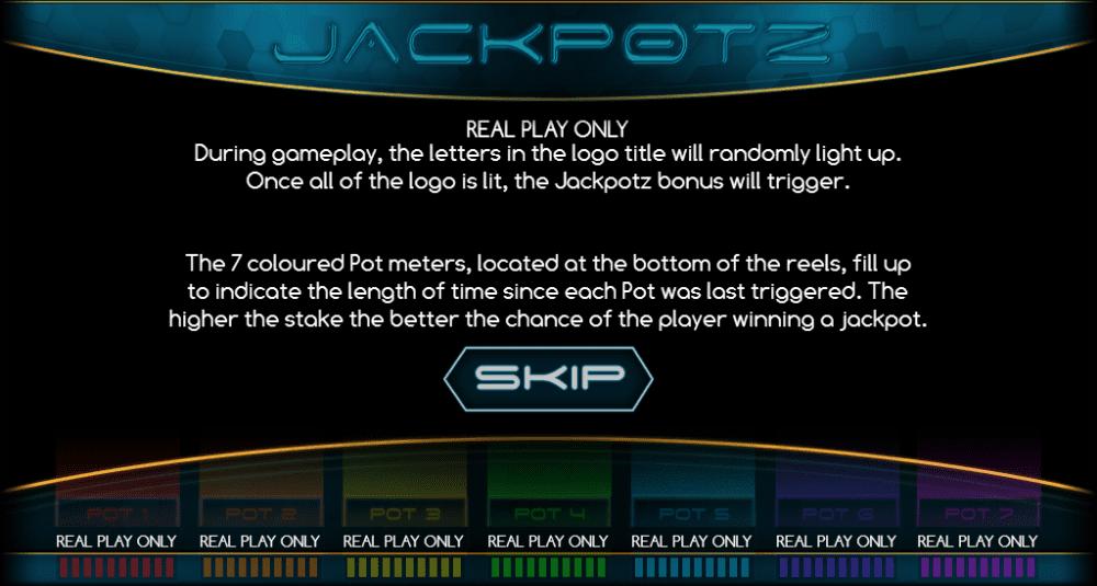 Jackpotz Slot Game