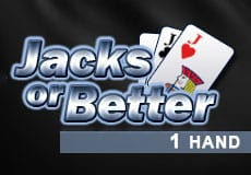 1H Jacks or Better slots game logo