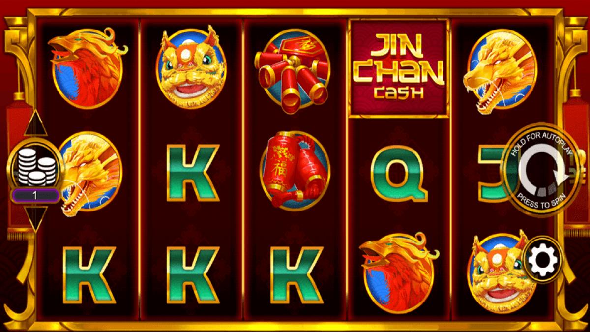 Jin Chan Cash Slot Game Play