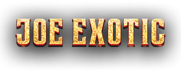 Joe Exotic Slot Logo Wizard Slots