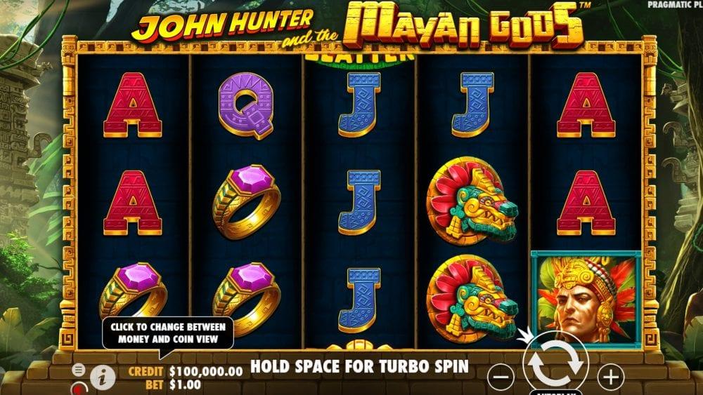 John Hunter and the Mayan Gods Slot Gameplay