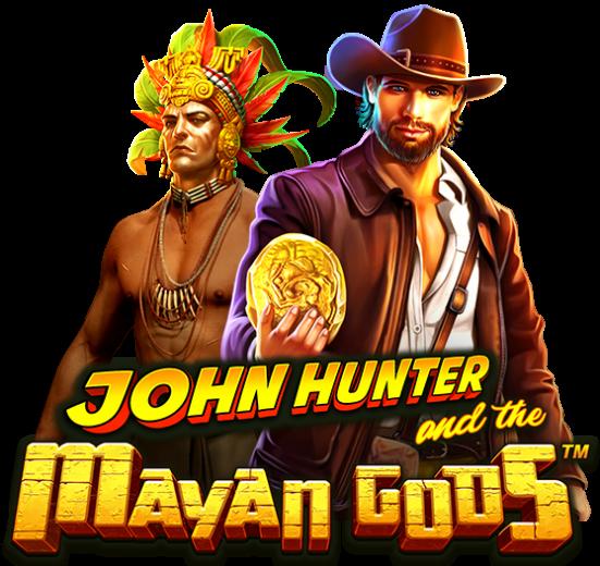 John Hunter and the Mayan Gods Slot Logo Wizard Slots