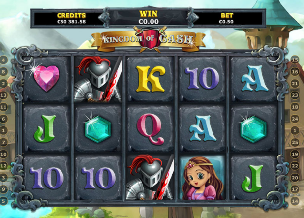 Kingdom of Cash slots gameplay