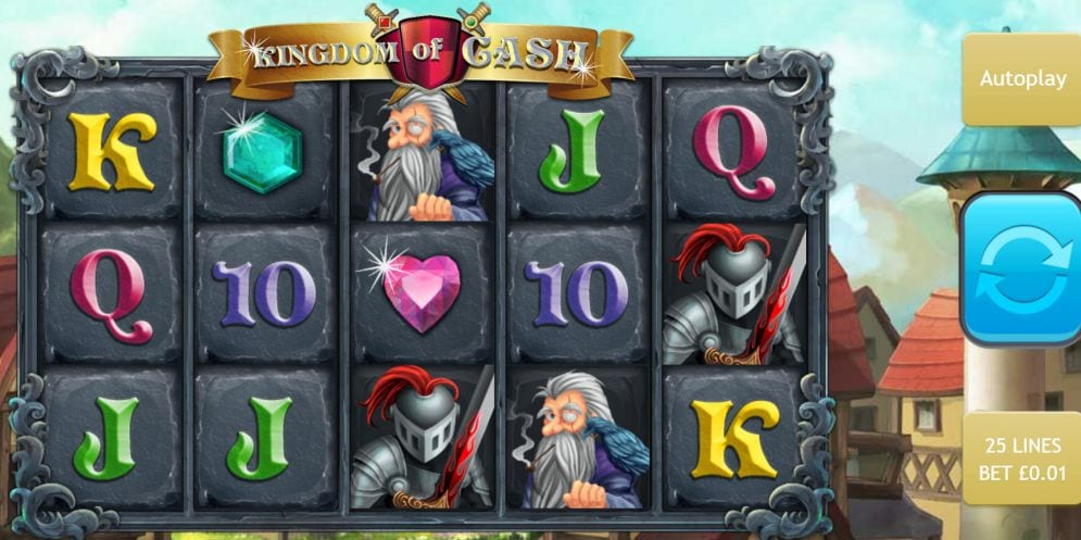 Kingdom of Cash Jackpot Gameplay