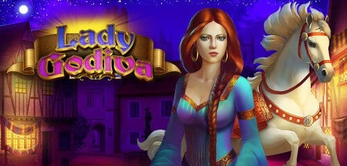 lady godiva slots game logo