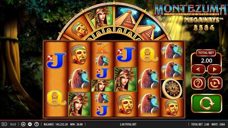 Montezuma Megaways Free Slots
