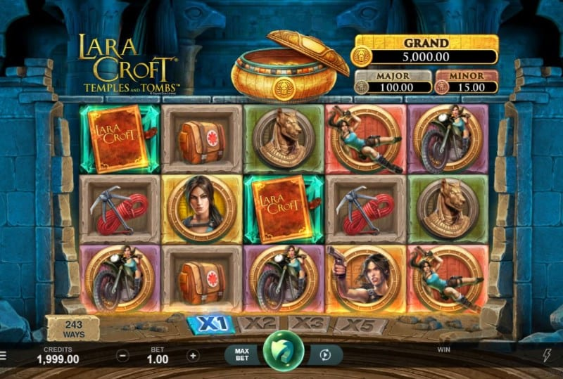 Lara Croft: Temples and Tombs Slot Game