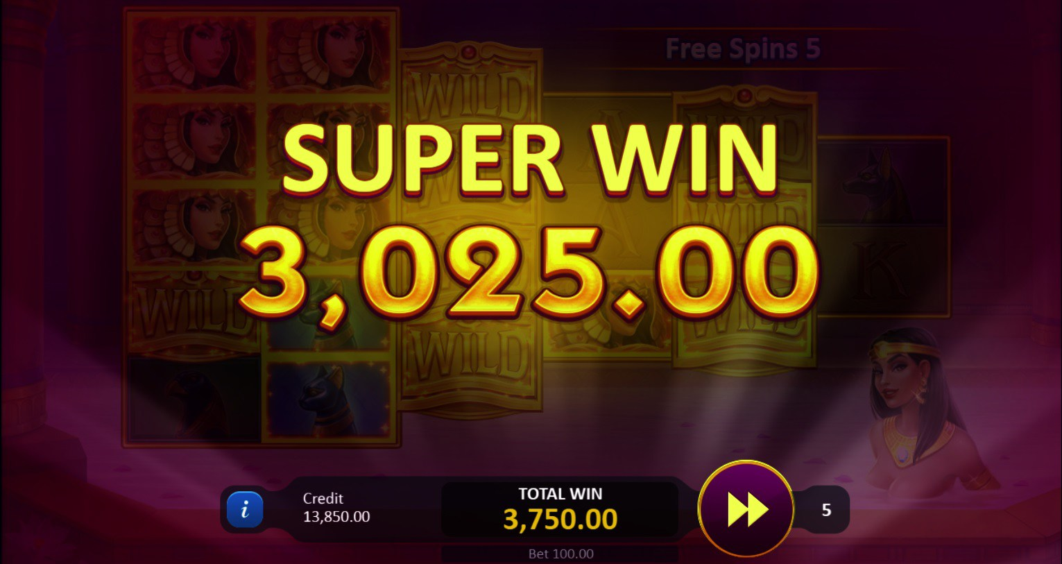 Legends of Cleopatra Super Win
