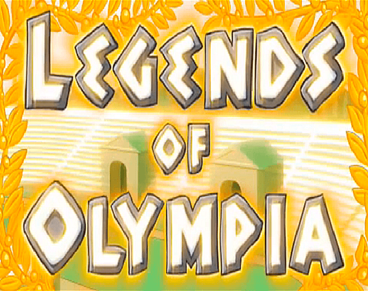 legends of olympia slots game logo