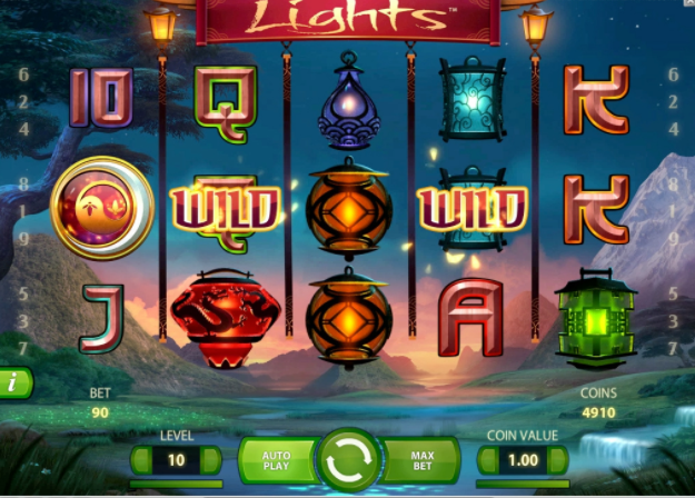 Lights slots gameplay