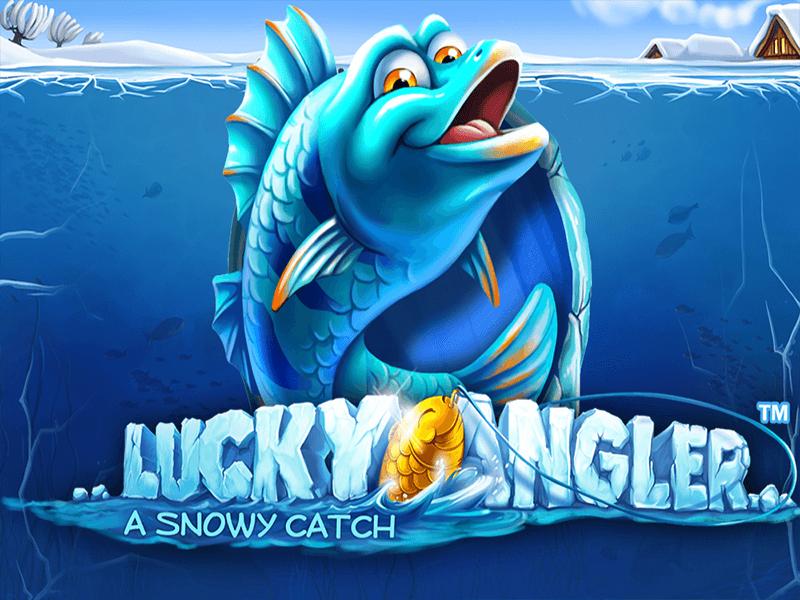 Lucky Angler online slots game logo