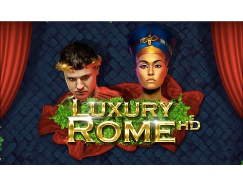 Luxury Rome HD online slots game logo