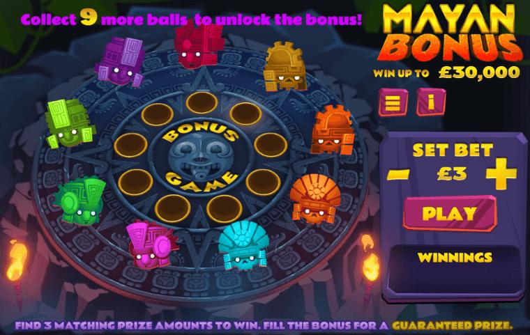 Mayan Bonus Slots Game