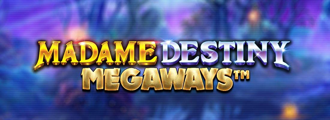 Madame Destiny Megaways Slot Logo Wizard Slots