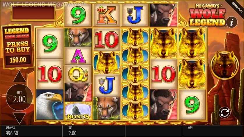 Wolf Legend Megaways Free Slots