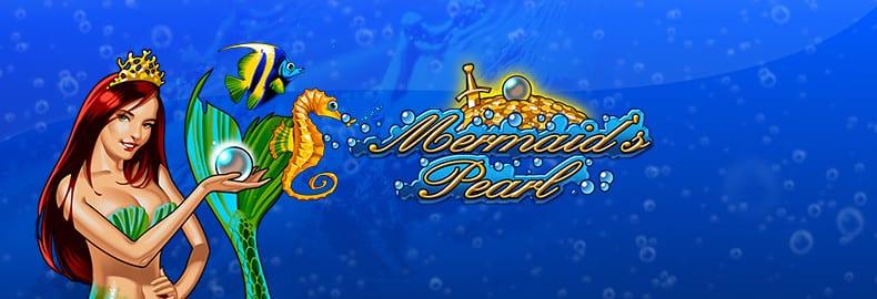 Mermaids Pearl online slots game logo