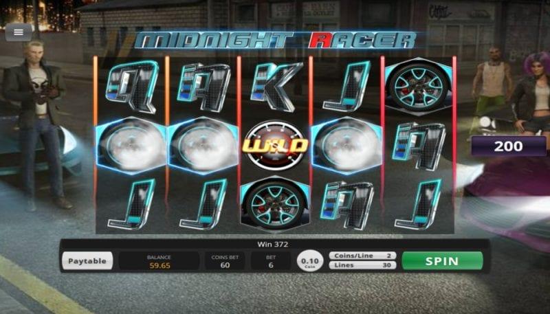Midnight Racer Slot UK