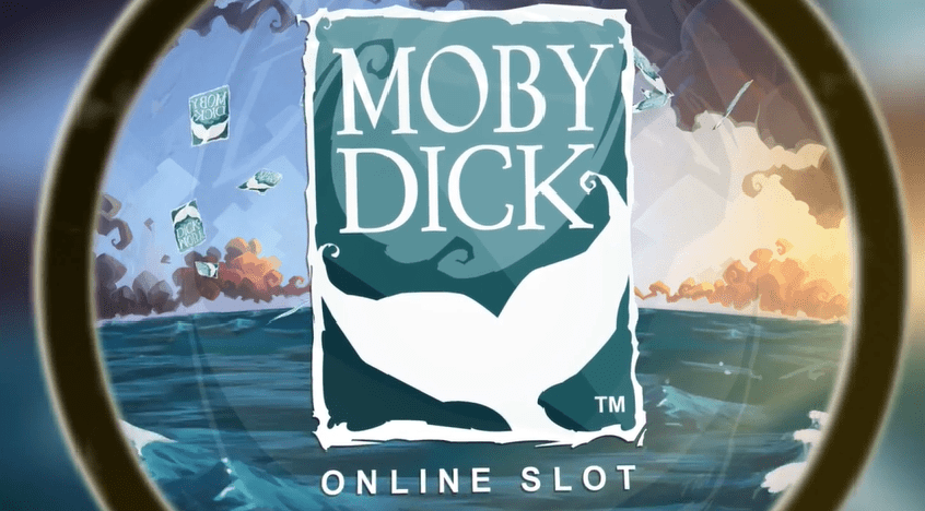 Moby Dick online slots game logo