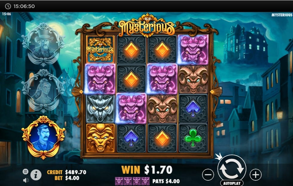 Mysterious Slots Game Play