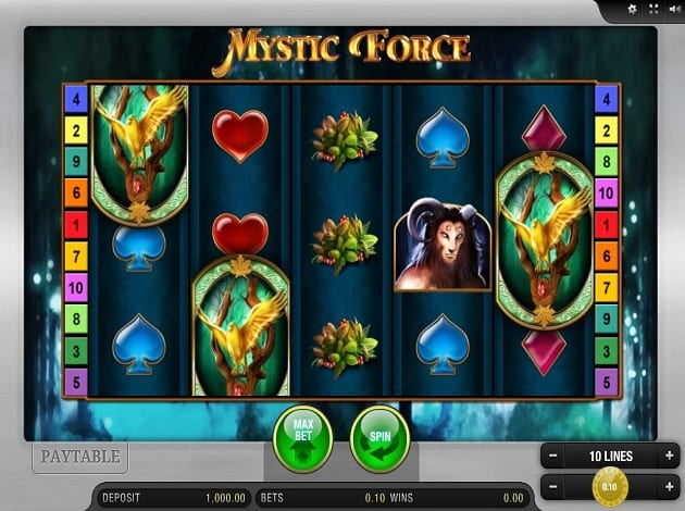 Mystic Force screen shot