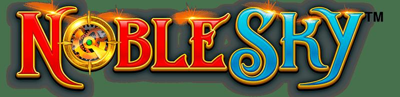 Noble Sky Slot Logo Wizard Slots