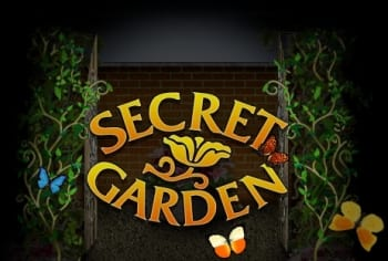 Secret Garden online slots game logo