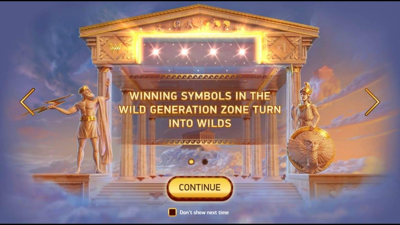 Parthenon Quest for Immortality Slot Bonus